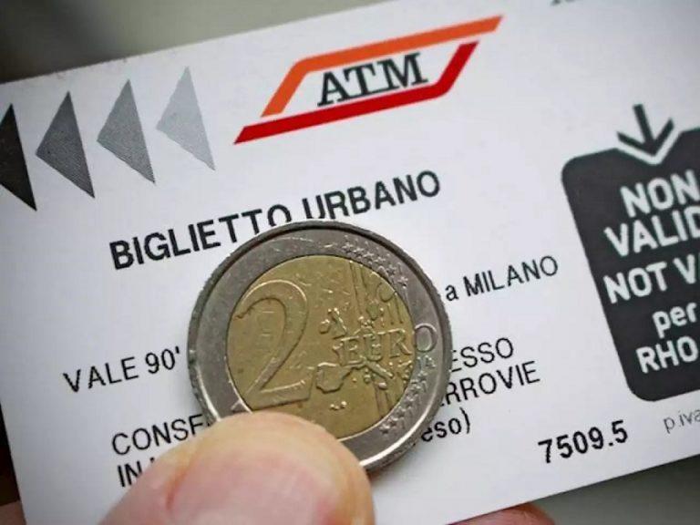 Biglietti Atm: oltre i due euro