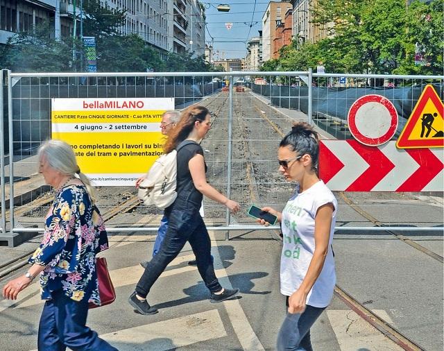 Città Studi e Monte Nero, la solita estate tra i cantieri a Milano
