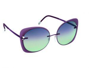 occhiali da sole con frame leggero e colorato, disponibile in 5 varianti colore