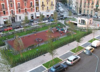 Nuovo look per via Benedetto Marcello