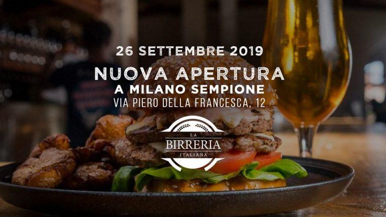 Movida: La Birreria Italiana apre in via Piero della Francesca