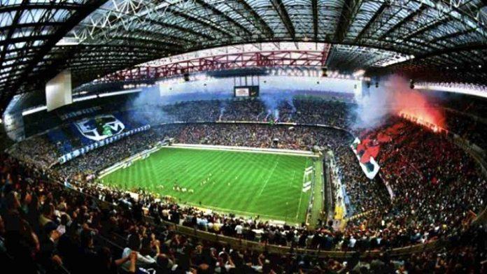 Milano Vezzali capienza derby