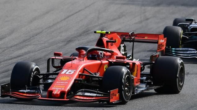 Leclerc da impazzire: nove anni dopo Monza è rossa