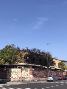 Via Sammartini, la cronistoria