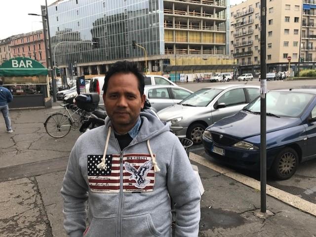 Futuro di Milano, il lettore Hossain Ashrf: «Primo approccio da turista, ora spero di rimanerci»