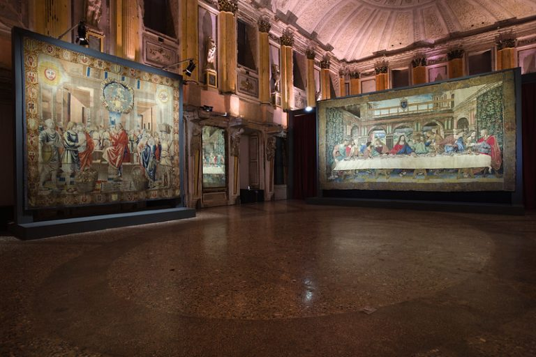 Leonardo a Palazzo Reale: ecco l'arazzo del Cenacolo