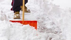 spalatura e sgombero neve