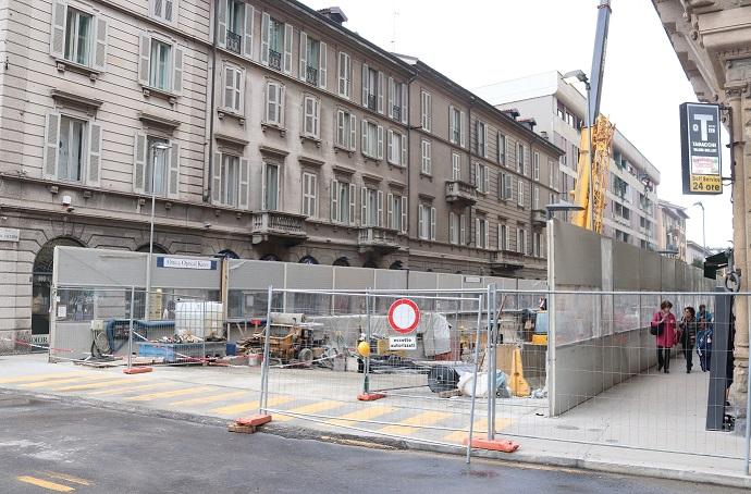 Resistere alla M4 in via San Vittore: «Abbiamo fatto gruppo»