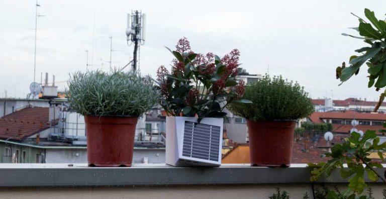 Arianna, il vaso antismog che controlla l'aria di Milano