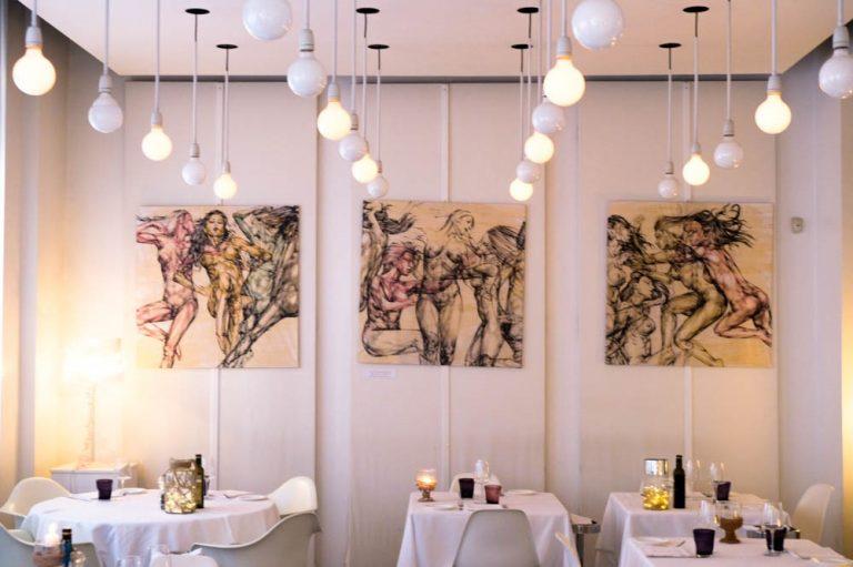 Al <i>Ristorante Bianca</i> l'arte si fa gourmet, in mostre le opere di Guy Fedrizzi