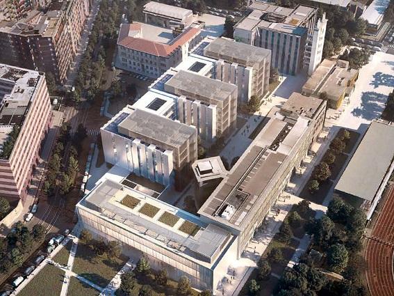 Politecnico: un Campus di Architettura e il profondo verde che fu