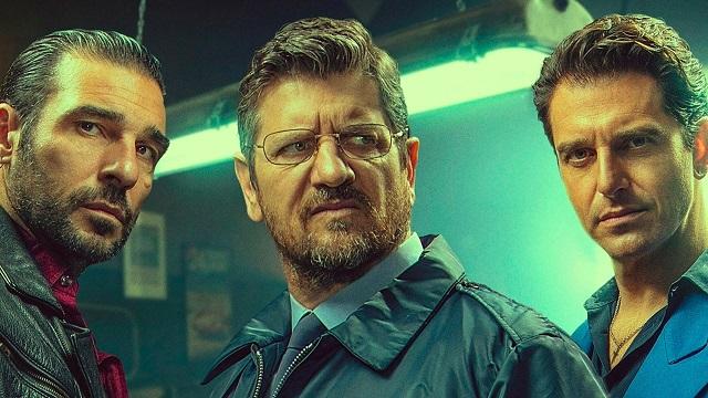 Tre uomini d'oro e un bottino, al cinema il trio criminale Morelli-De Luigi-Leo