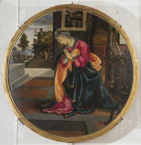 Annunciazione di Filippino Lippi