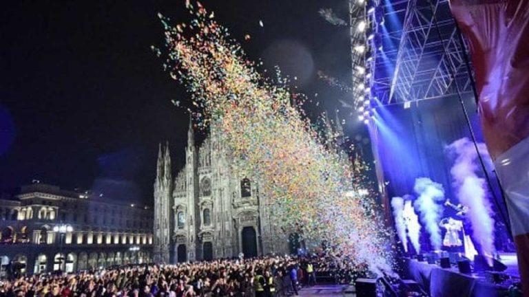 Capodanno for Future: il 2020 comincia in piazza del Duomo
