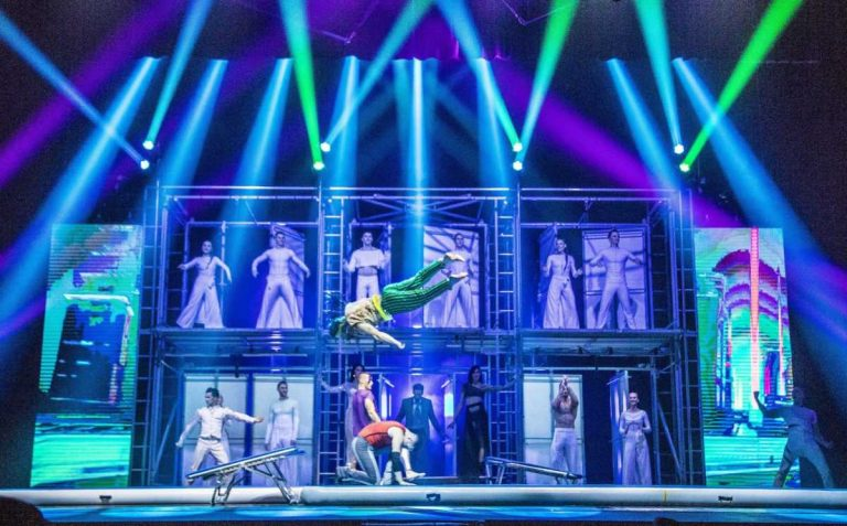 Suggestione e realtà: al Teatro della Luna <i>Le Cirque World's Top Performers – Tilt</i>