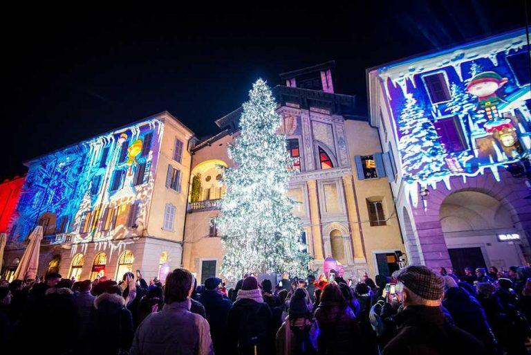 A Como la Città dei Balocchi si illumina con <i>Magic Light Festival</i>