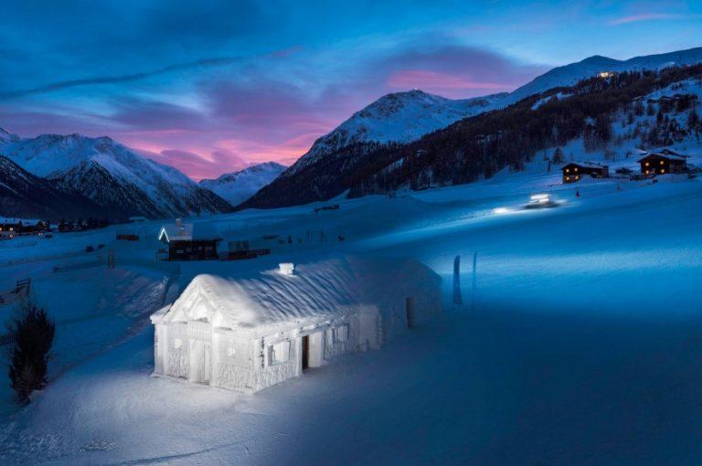 <i>Snow Dream Experience</i>, a Livigno una notte magica nello chalet di ghiaccio