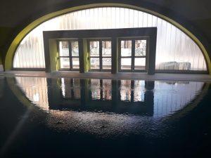 La piscina e il Casva