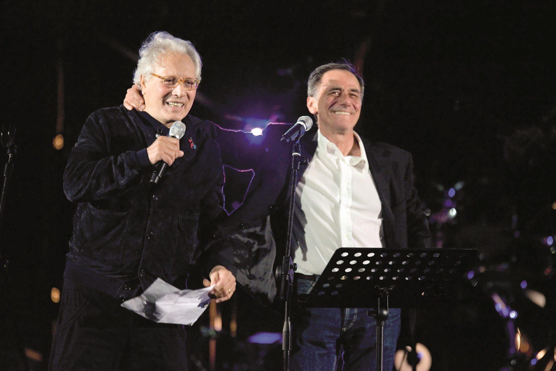 Vecchioni e Jannacci, la Milano più amata sul palco dell'Ariston