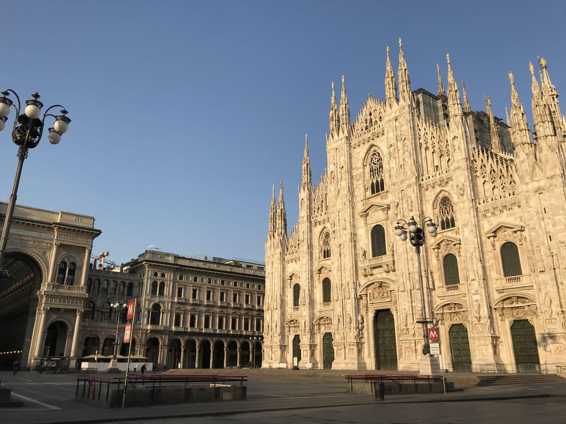 Piazza Duomo milano