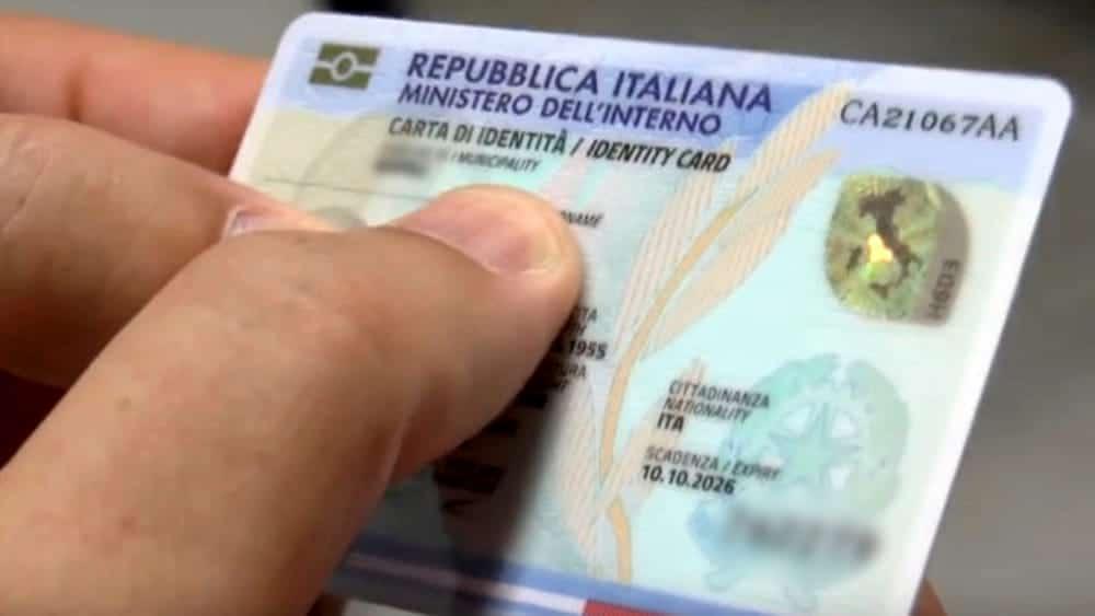 carte d'identità