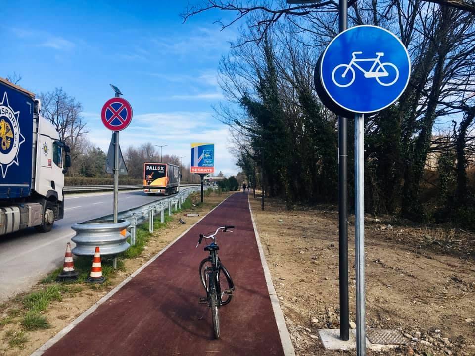 nuova pista ciclabile