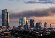 I mille volti dello skyline di Milano catturati da Irene Colli Lanzi