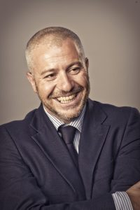 Damiano Rizzi, psicologo e presidente della fondazione Soleterre