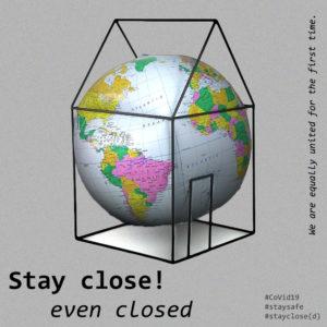 Stay close(d) - immagine di Gasya Arapoglu