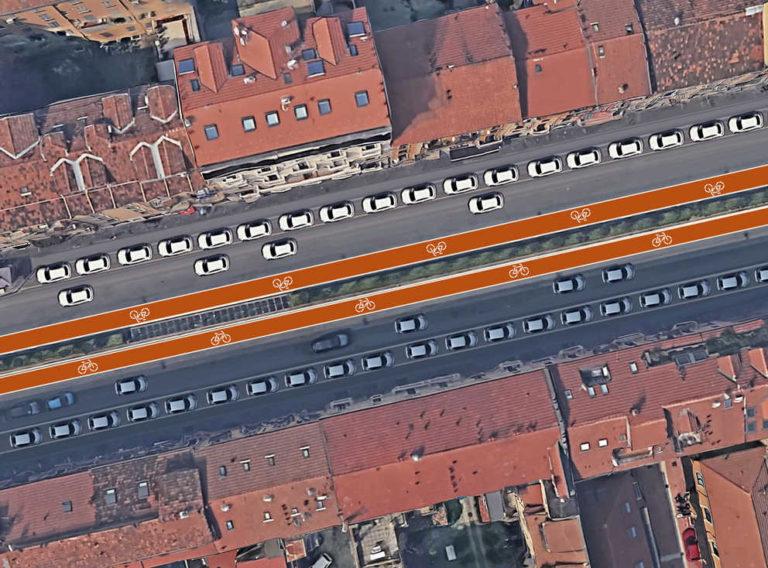 Viale Monza, ripartono i lavori per il completamento della ciclabile fino a Sesto