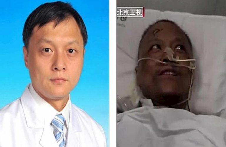 Il curioso caso di due medici cinesi contagiati: si risvegliano con la pelle scura
