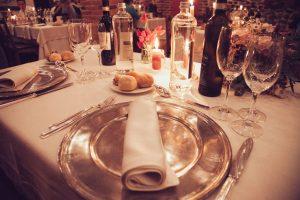 mise en table