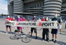 flash mob lavoratori sport san siro
