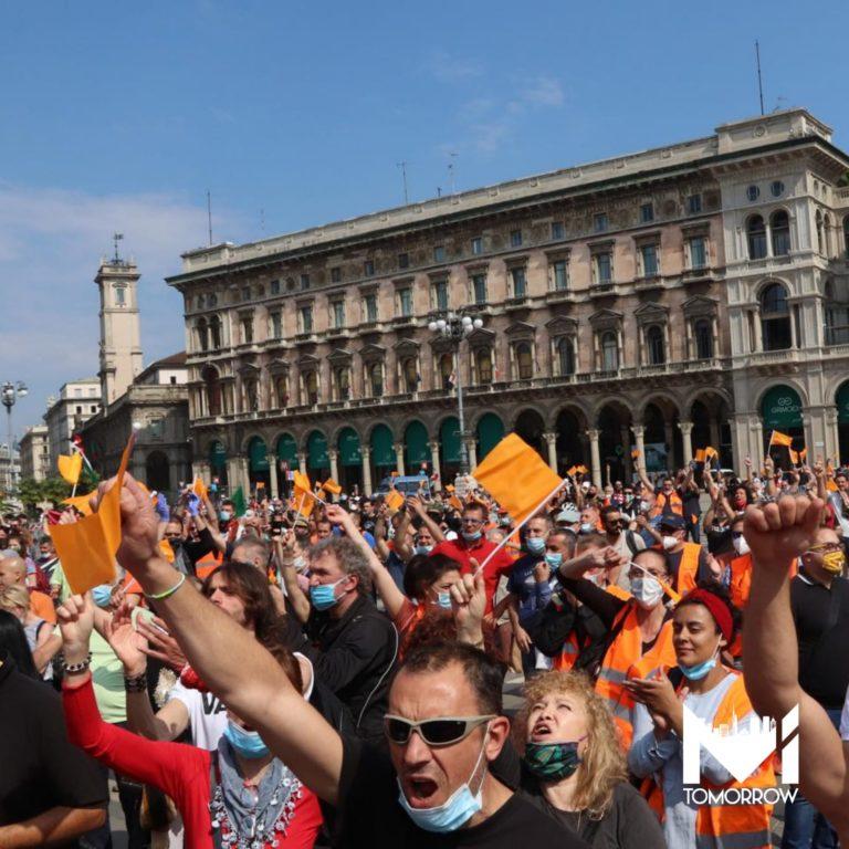 """Denuncia in arrivo per il generale Pappalardo e il suo movimento dei """"gilet arancioni"""""""