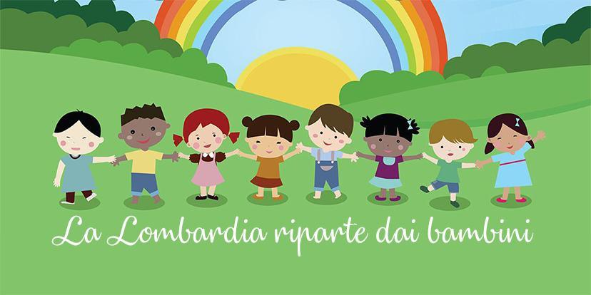 La Lombardia riparte dai bambini
