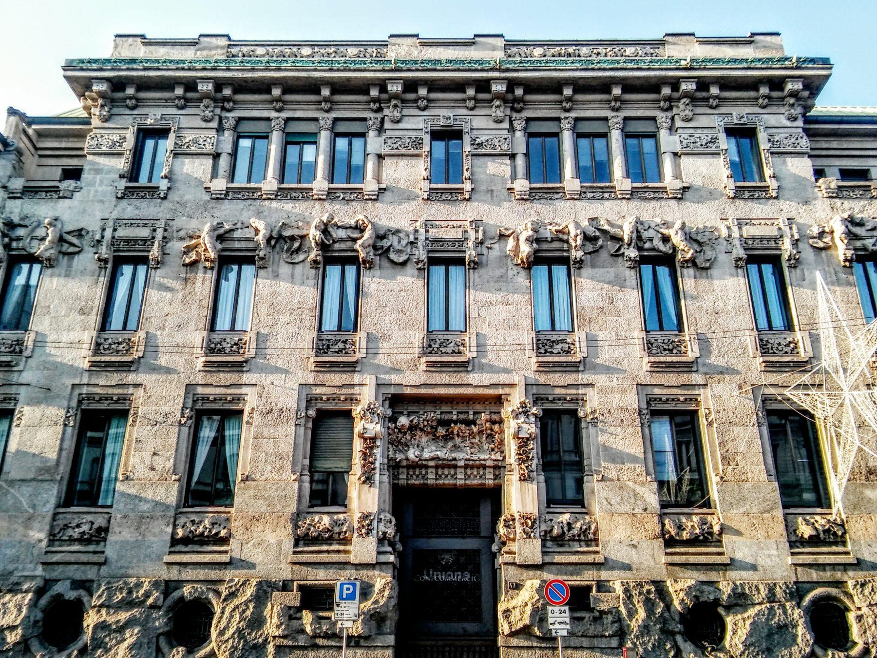 liberty (palazzo castiglioni)