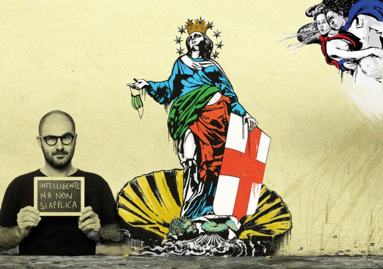 L'opera di Mr. Savethewall: «Il momento dei fuoriclasse per una Milano rinascente»