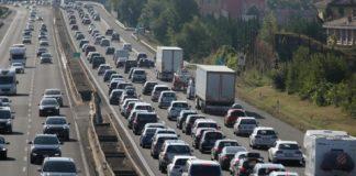 traffico coda autostrada liguria