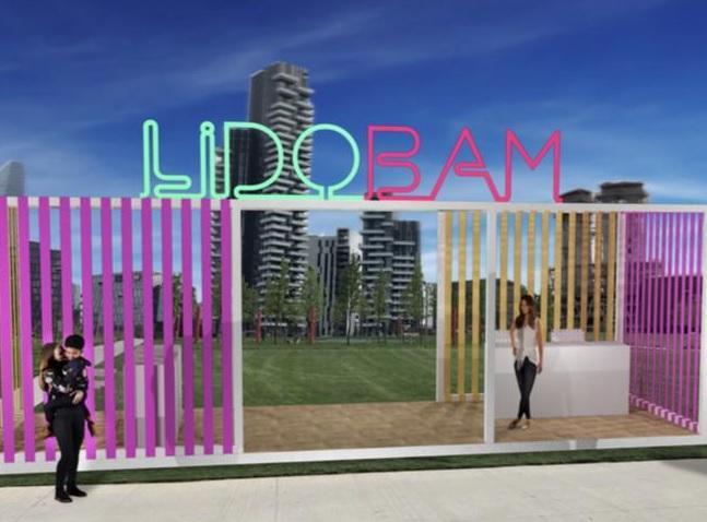 "Nasce il ""Lido Bam"", una spiaggia vista skyline"