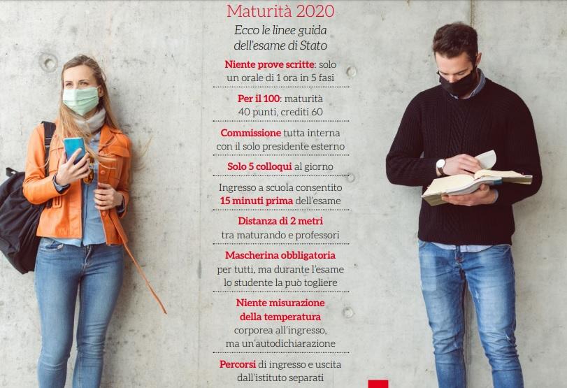 Maturità 2020: le linee guida dell'esame di Stato