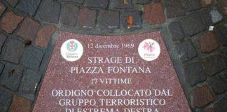 targhe vittime piazza fontana