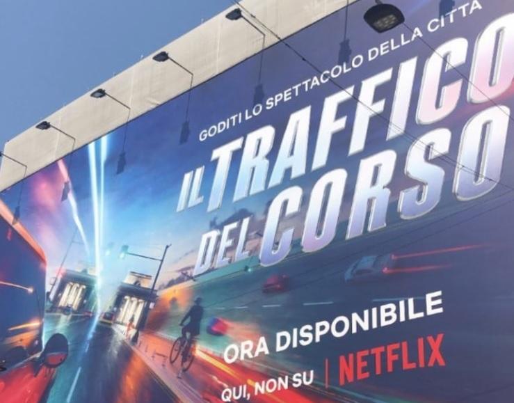 La campagna Netflix per celebrare la Milano post lockdown
