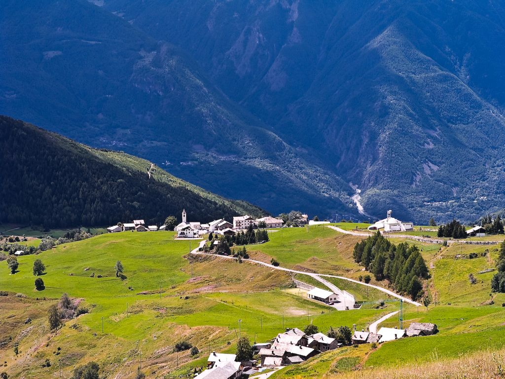 Valle d'Aosta - valle saint barthelemy