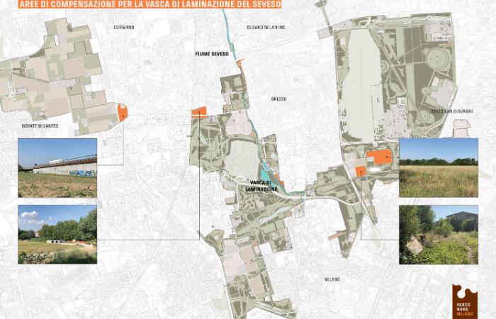 Parco Nord Milano mappa zone compensazione
