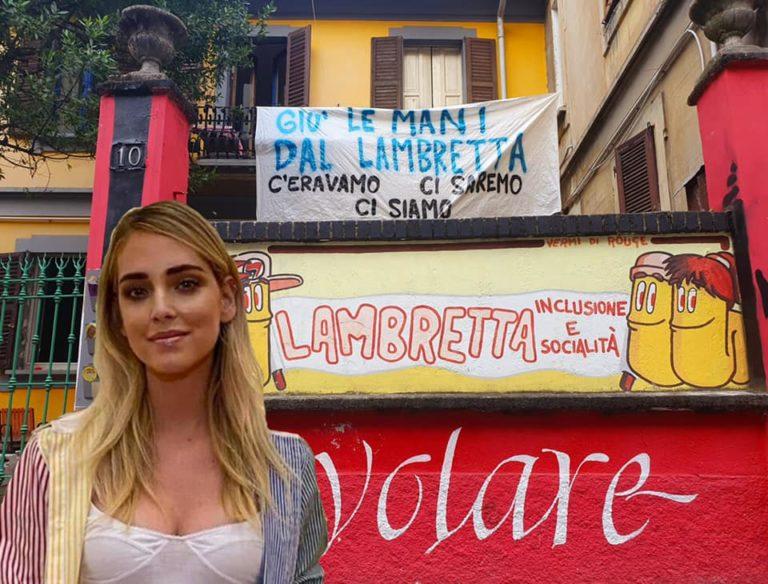 Lambretta, un meme con la Ferragni e la risposta a Sala: «Lo sgombero della solidarietà non è un argomento da campagna elettorale»