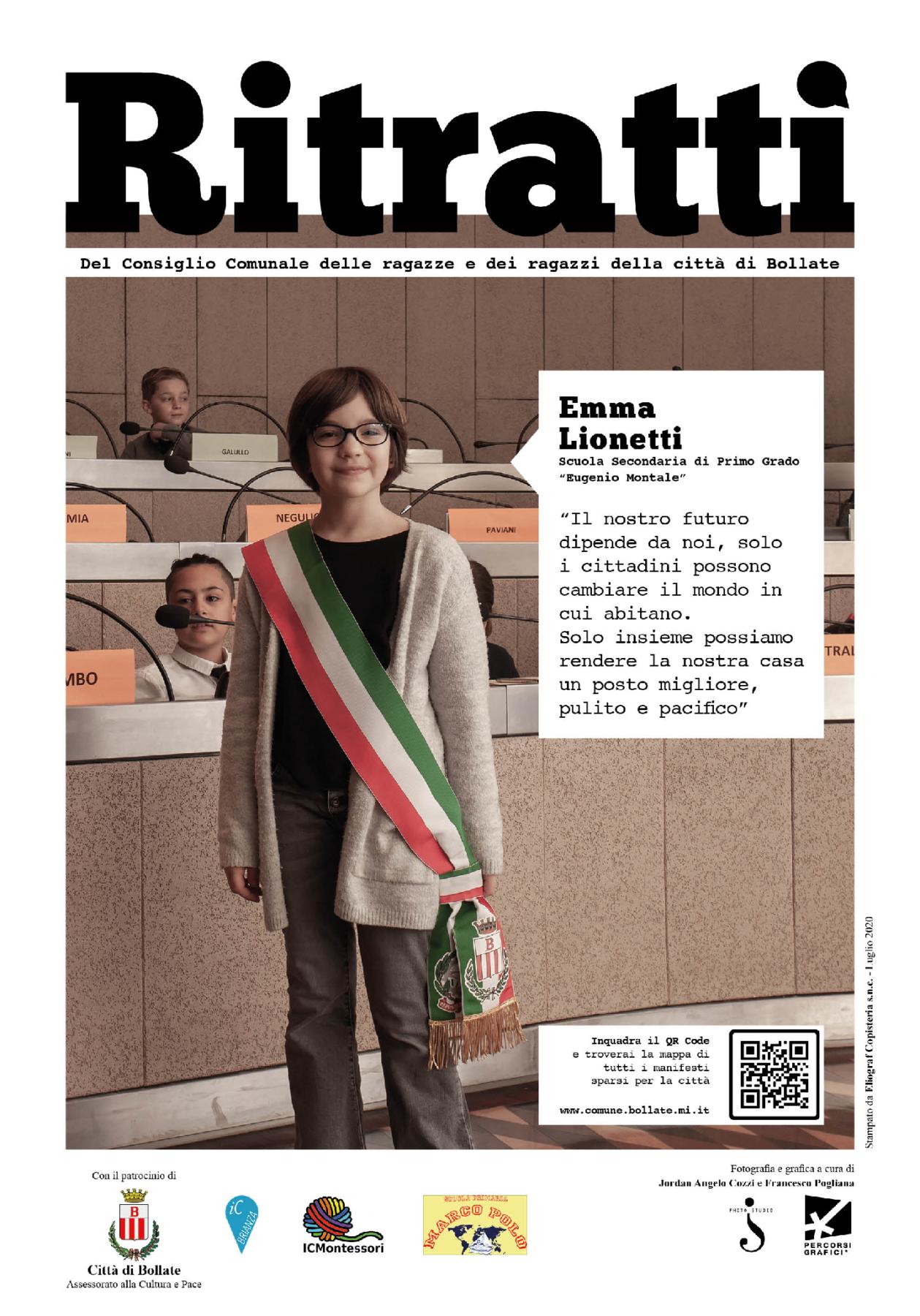 Mostra Bollate - foto di Jordan Angelo Cozzi e grafica di Francesco Pogliana