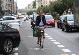 viale monza nuova pista ciclabile - biciclette