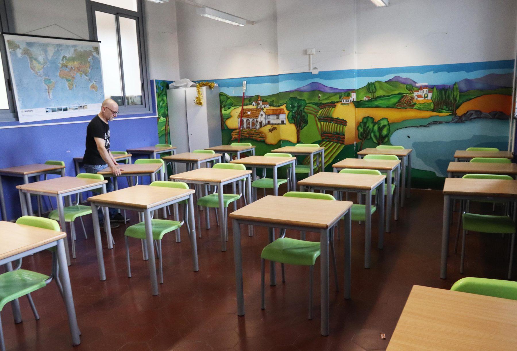 ripartenza scuola milano