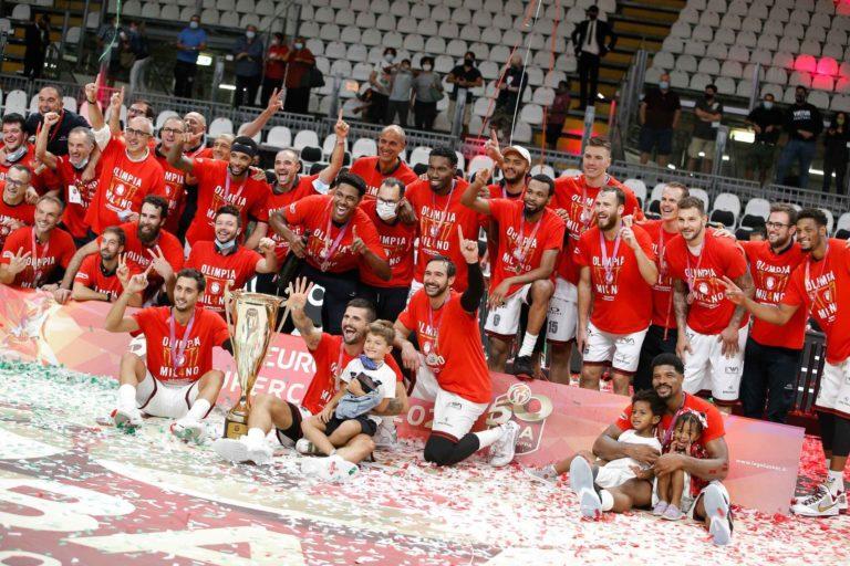 Buona la prima: l'Olimpia Milano vince la Supercoppa italiana