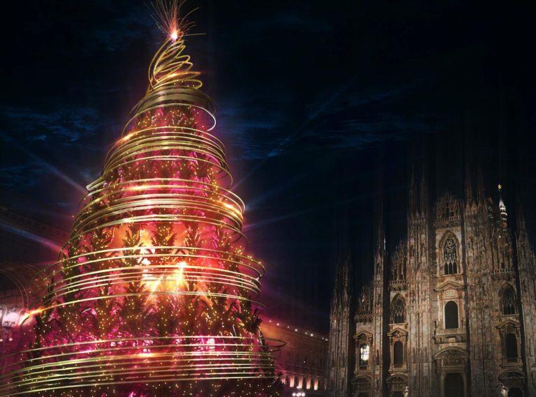 """Natale 2020, a Milano svelato il nuovo """"albero del Don"""""""